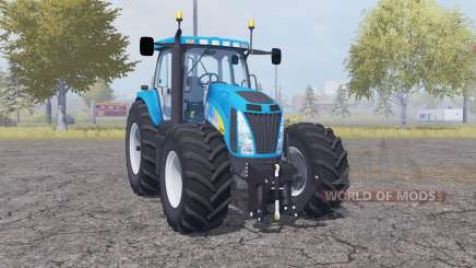 New Holland T8020 double wheels für Farming Simulator 2013