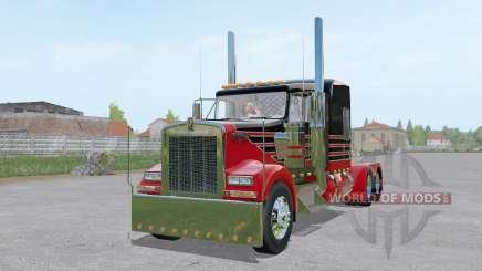 Kenworth W900L 6x6 pour Farming Simulator 2017