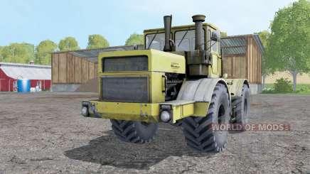 Kirovets K-700A soft-gelb für Farming Simulator 2015