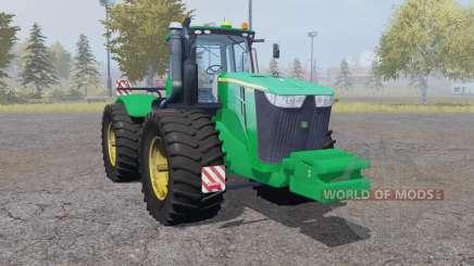 John Deere 9510R double wheels für Farming Simulator 2013