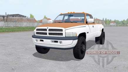 Dodge Ram 3500 Club Cab 1994 pour Farming Simulator 2017