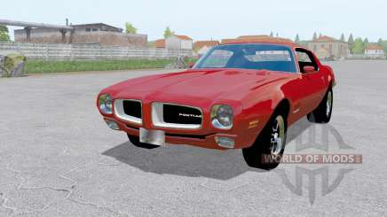 Pontiac Firebird (228-87) 1970 red für Farming Simulator 2017