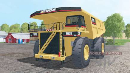 Caterpillar 797B 2002 pour Farming Simulator 2015