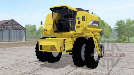 New Holland TC59 dual front wheels pour Farming Simulator 2017