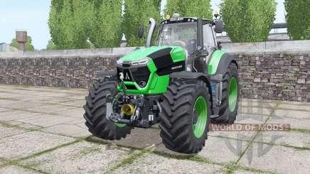 Deutz-Fahr Agrotron 9310 TTV real sounds engine für Farming Simulator 2017