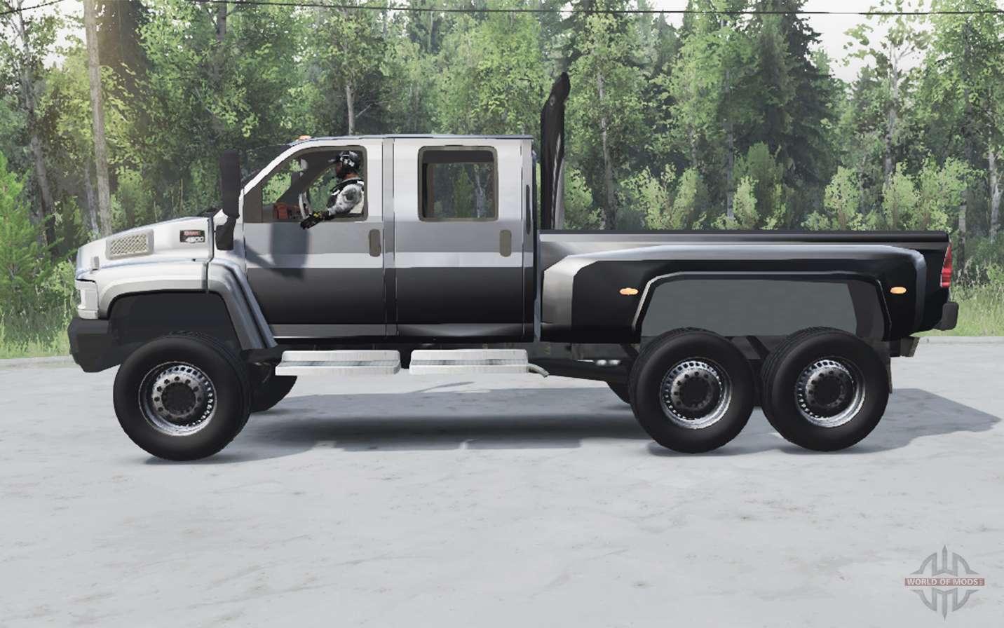 Gmc Topkick C4500 6ᶍ6 Pour Spin Tires