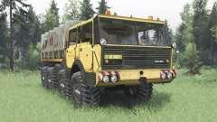 Tatra T813 TP 8x8 1967 Kings Off-Road 2 für Spin Tires