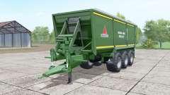 Annaburger HTS 29.17 green für Farming Simulator 2017