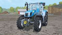 New Holland T6.175 wheels weights pour Farming Simulator 2015