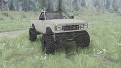 Chevrolet S-10 Single Cab 1984 pour MudRunner