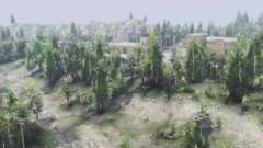 Forêt de feuillus v2.1.1 pour Spin Tires