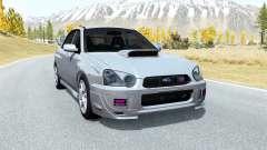 Subaru Impreza WRX STi (GDB) 2003 pour BeamNG Drive