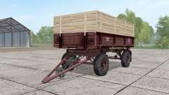 2ПТС-4 ninasimone-rouge foncé pour Farming Simulator 2017