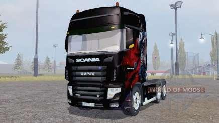 Scania R700 Evo Albator Edition für Farming Simulator 2013