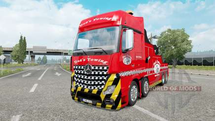Mercedes-Benz Actros (MP4) Tow Truck pour Euro Truck Simulator 2
