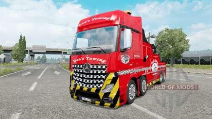 Mercedes-Benz Actros (MP4) Tow Truck für Euro Truck Simulator 2