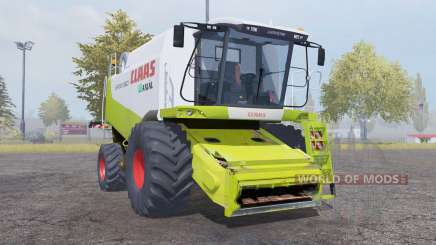 Claas Lexion 560 with header für Farming Simulator 2013