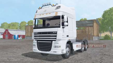 DAF XF105 Super Space Cab für Farming Simulator 2015