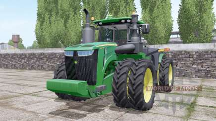 John Deere 9420R wheels selection pour Farming Simulator 2017