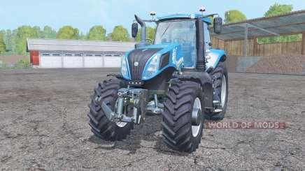 New Holland T8.435 double wheels für Farming Simulator 2015