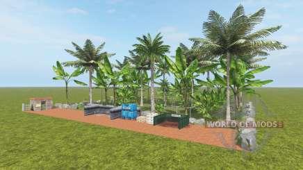 Fruit Farm - Coconut and Banana für Farming Simulator 2017