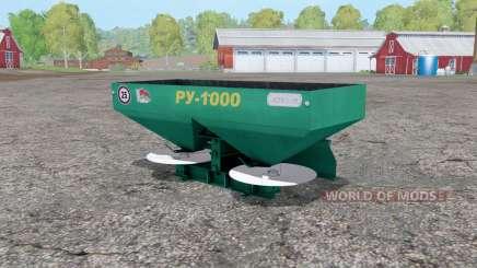 RU-1000 für Farming Simulator 2015