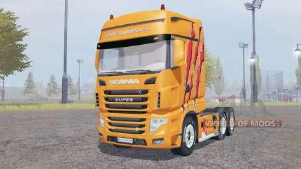 Scania R700 Evo Cedric Transports Edition für Farming Simulator 2013