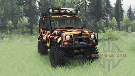 UAZ 31514 Tundra für Spin Tires