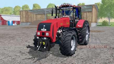 La biélorussie 3522 roues jumelées pour Farming Simulator 2015