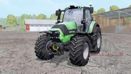 Deutz-Fahr Agrotron 6190 TTV wheels weights pour Farming Simulator 2015