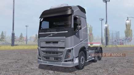 Volvo FH16 6x4 Globetrotter cab 2012 pour Farming Simulator 2013