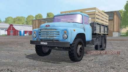 ZIL MMZ 554 ensilage pour Farming Simulator 2015