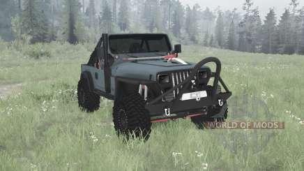 Jeep Wrangler (YJ) 1990 pour MudRunner