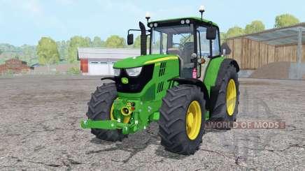 John Deere 6115M front loader pour Farming Simulator 2015