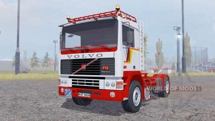 Volvo F12 Intercooler tractor für Farming Simulator 2013
