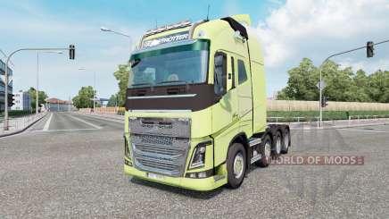 Volvo FH16 750 8x4 Globetrotter XL 2014 für Euro Truck Simulator 2