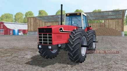 International 3588 double wheels pour Farming Simulator 2015