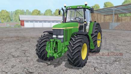 John Deere 7810 front loader pour Farming Simulator 2015