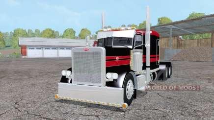 Peterbilt 379 Flat Top pour Farming Simulator 2015