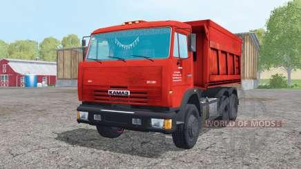 KamAZ 65115-049-62 trailer für Farming Simulator 2015