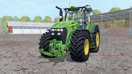 John Deere 7930 roues weightᶊ pour Farming Simulator 2015