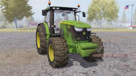 John Deere 6170R front loader für Farming Simulator 2013