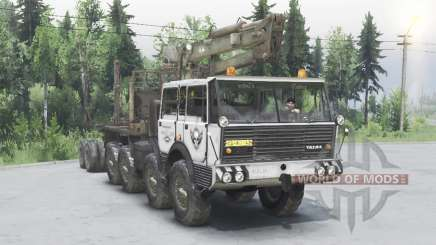 Tatra T813 TP 8x8 1967 Kings Off-Road 2 grey pour Spin Tires