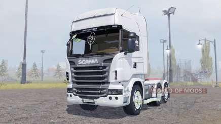 Scania R730 V8 Topline v2.0 für Farming Simulator 2013