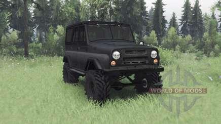 UAZ 469 dark grey v1.1 für Spin Tires