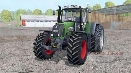 Fendt 820 Vario TMS dual rear wheels für Farming Simulator 2015