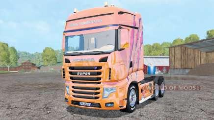 Scania R700 Evo Cedric Transports Edition für Farming Simulator 2015