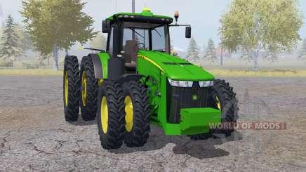 John Deere 8360R double wheels für Farming Simulator 2013
