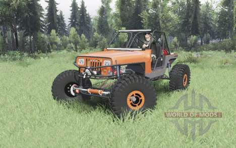 Jeep Wrangler (YJ) 40OZ Juggy pour Spin Tires