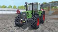 Fendt Favorit 615 LSA Turbomatik working mirrors pour Farming Simulator 2015